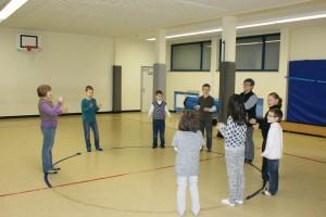 Freundschaftskampf Schachjugend versus Stadträte 2018